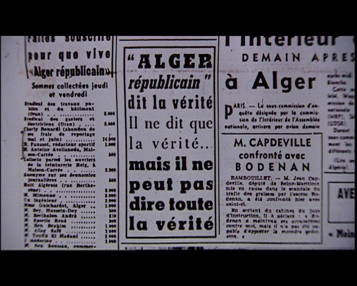 Alger Républicain dit la vérité 1
