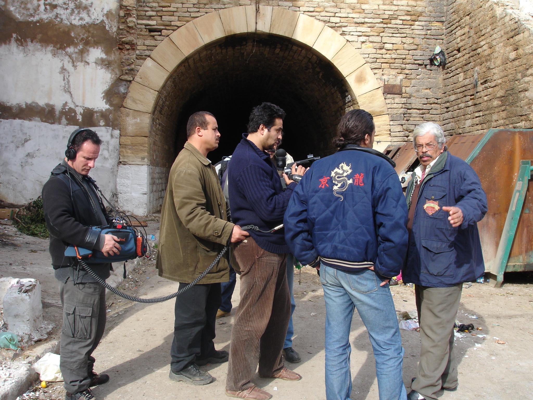 Avec Houari Naïri - Oran