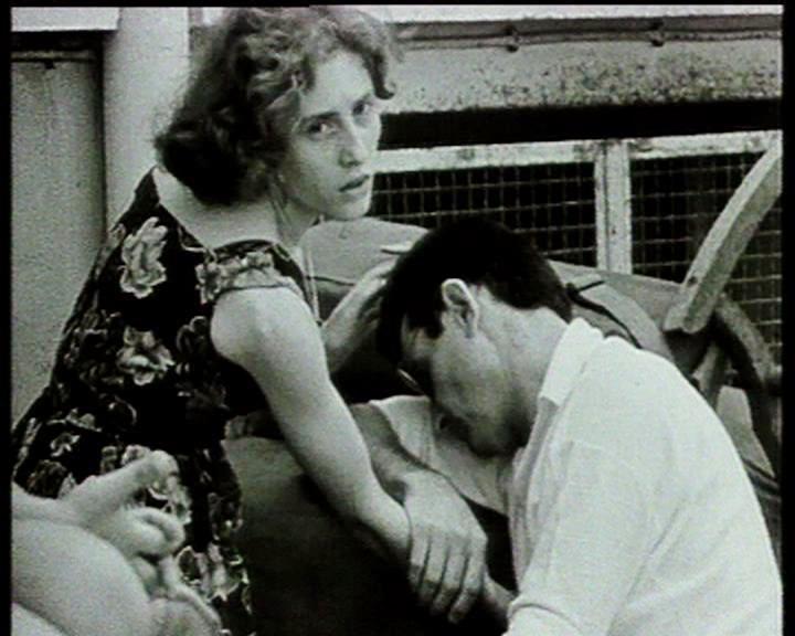couple Pieds Noirs au Port- 1962 -