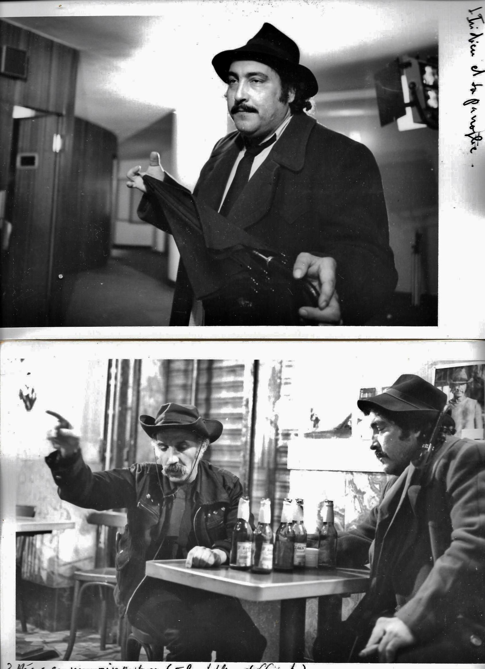 Md Bouamari et Zorro (Salah Teskouk) ds le ''Bar des Artistes'' - Empire des Rêves
