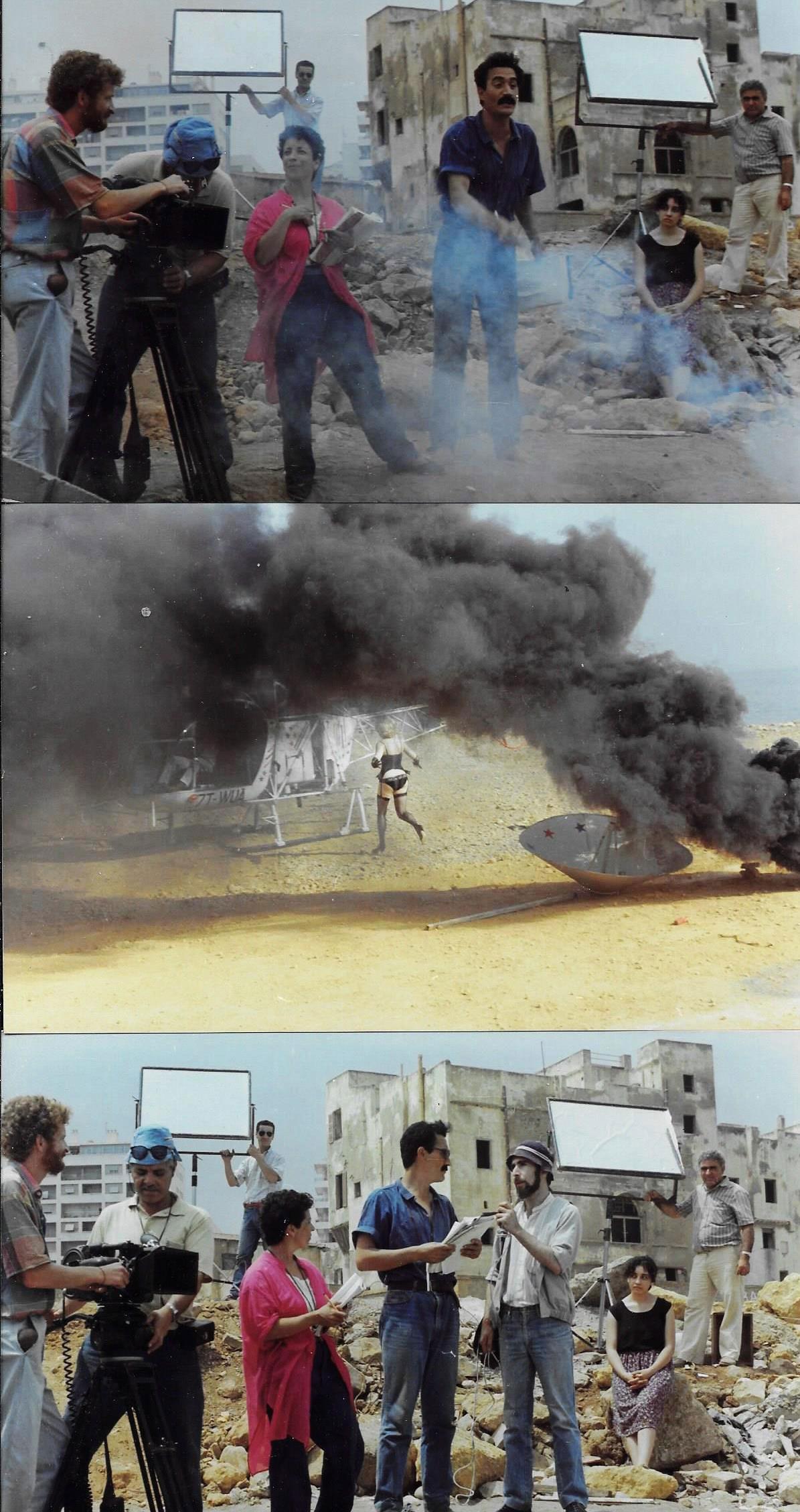 1er-film-de-fiction-d'Aziz.-Effet-fumée,-l'équipe-tousse.-