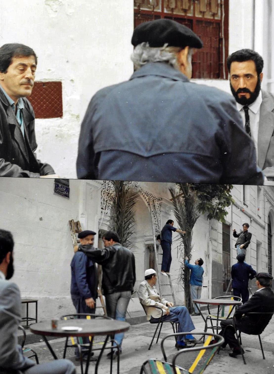 Aziz-et-le-Vieux,-1ère-Rencontre.-Mohamed-Fellag-+-Mustapha-Halo---1988-LUMIERES