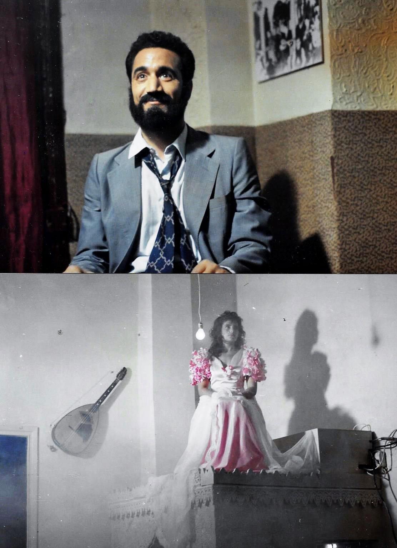 Café-MALAKOF.--Aziz,-fume-et-apparition-de-l'Andalouse...-Mohamed-Fellag----1988-LUMIERES
