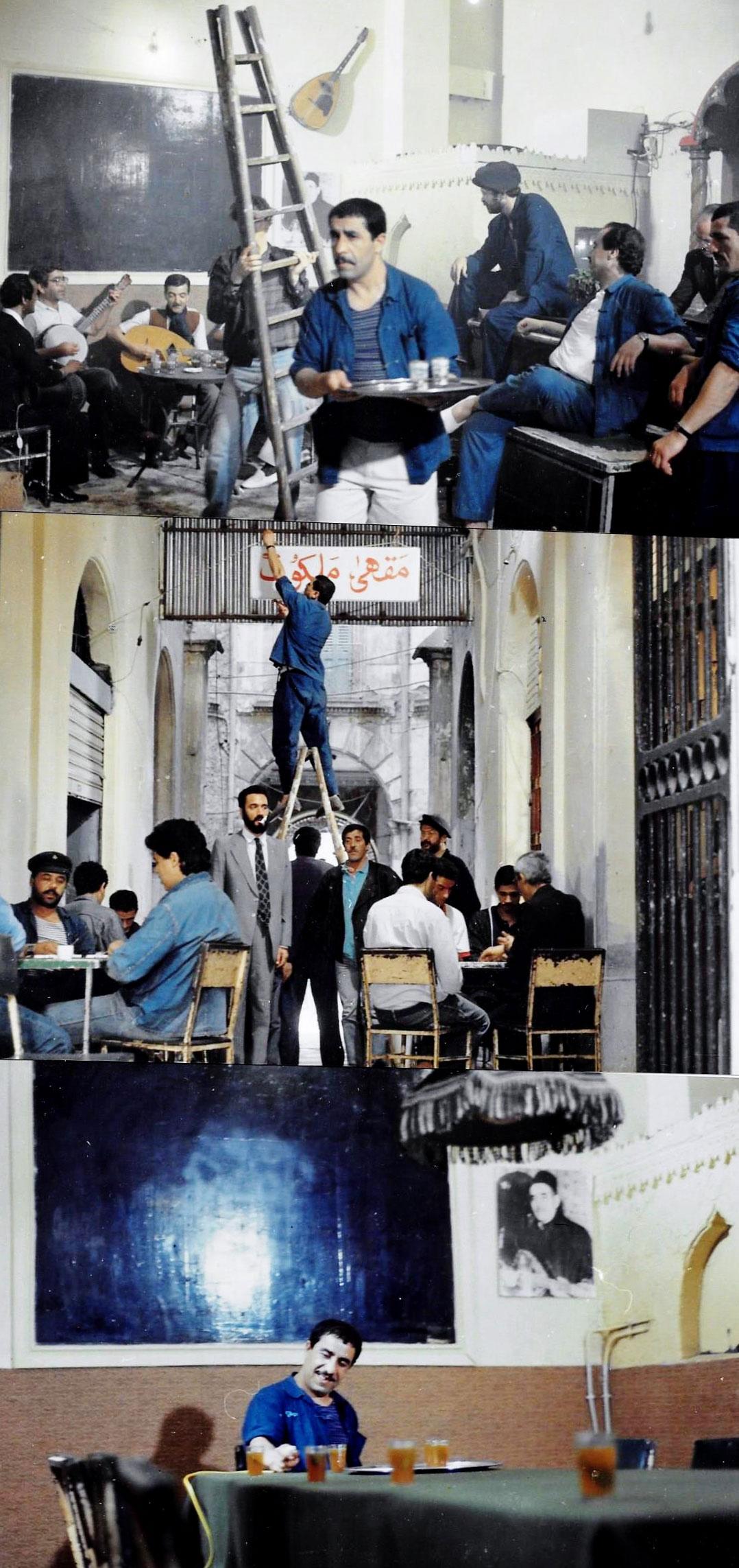 Café-MALAKOF.--Rendez-vous-amateurs-musique-chaabi.-Merzoug---1988-LUMIERES