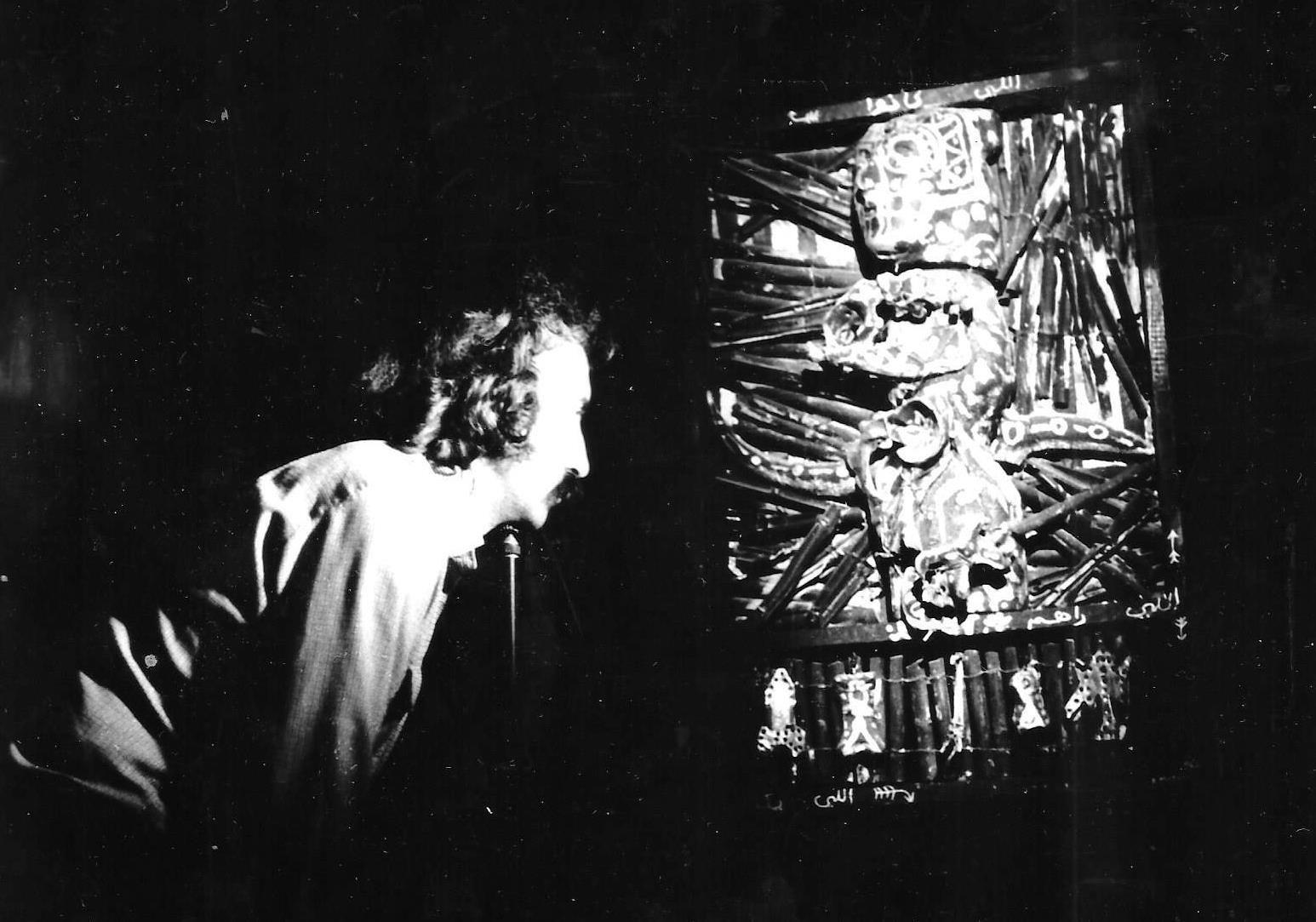 JP-Lledo---Tournage-2-films-l'Oeuvre-et-le-Peintre-Denis-Martinez,-1984,-Blida,-