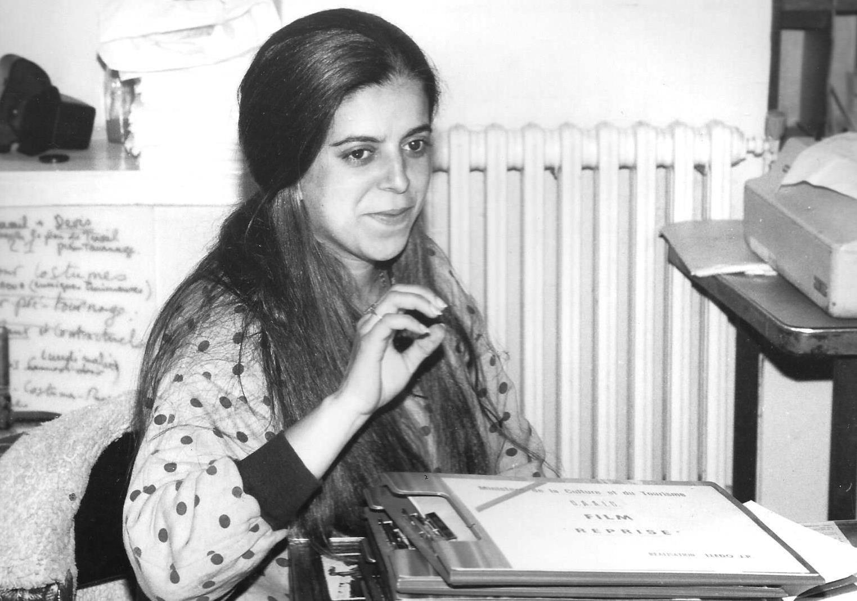 Meriem,-secrétaire-de-Production,-Préparation-LUMIERES,-Debut-1988